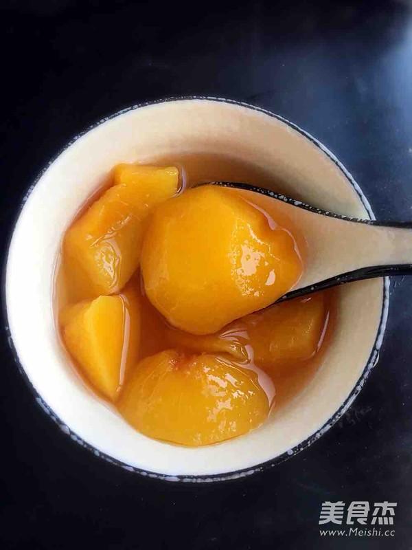 黄桃罐头怎么炖
