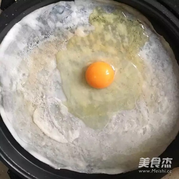 鸡蛋饼的简单做法