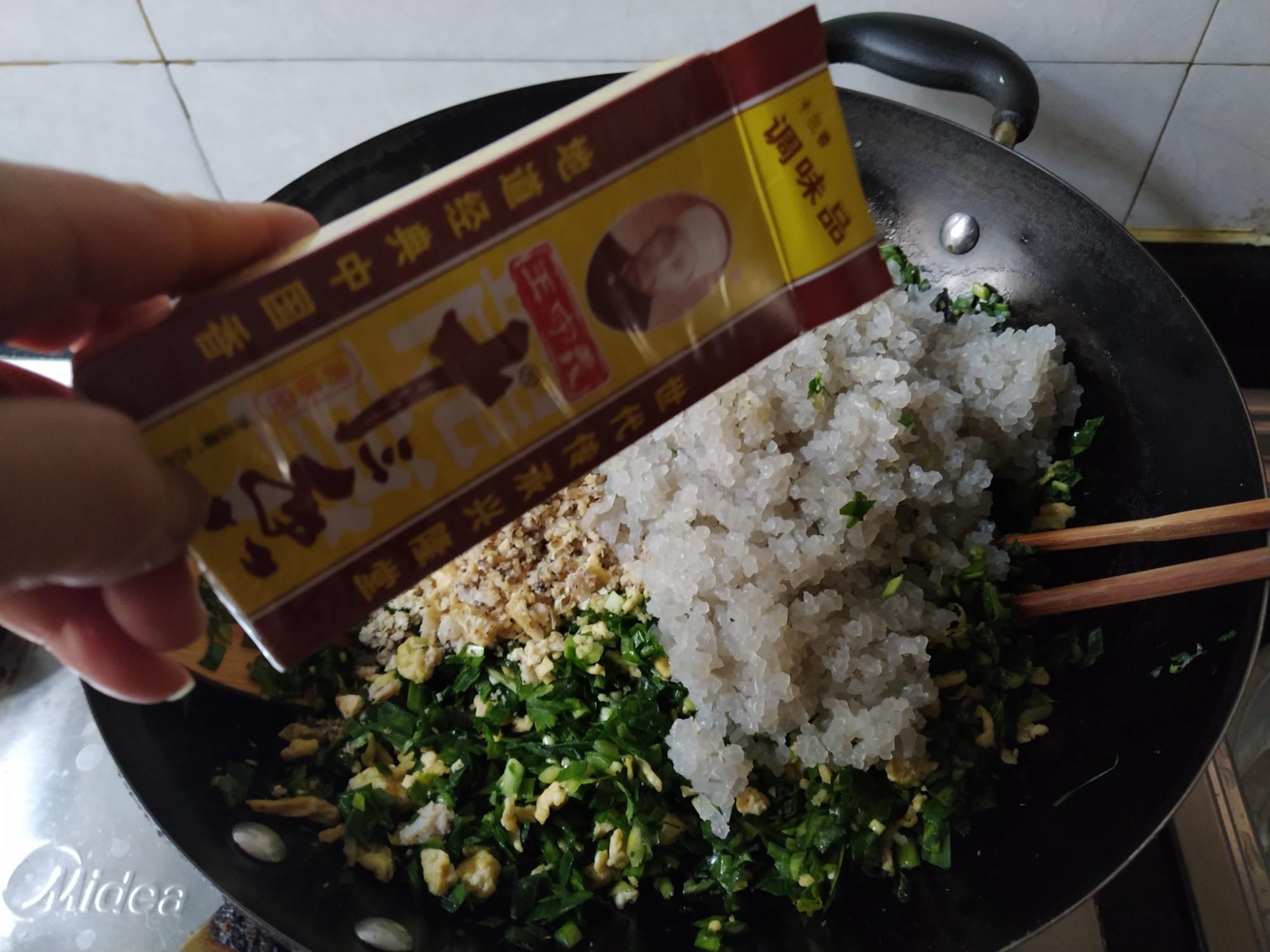 韭菜鸡蛋素饺子的做法大全