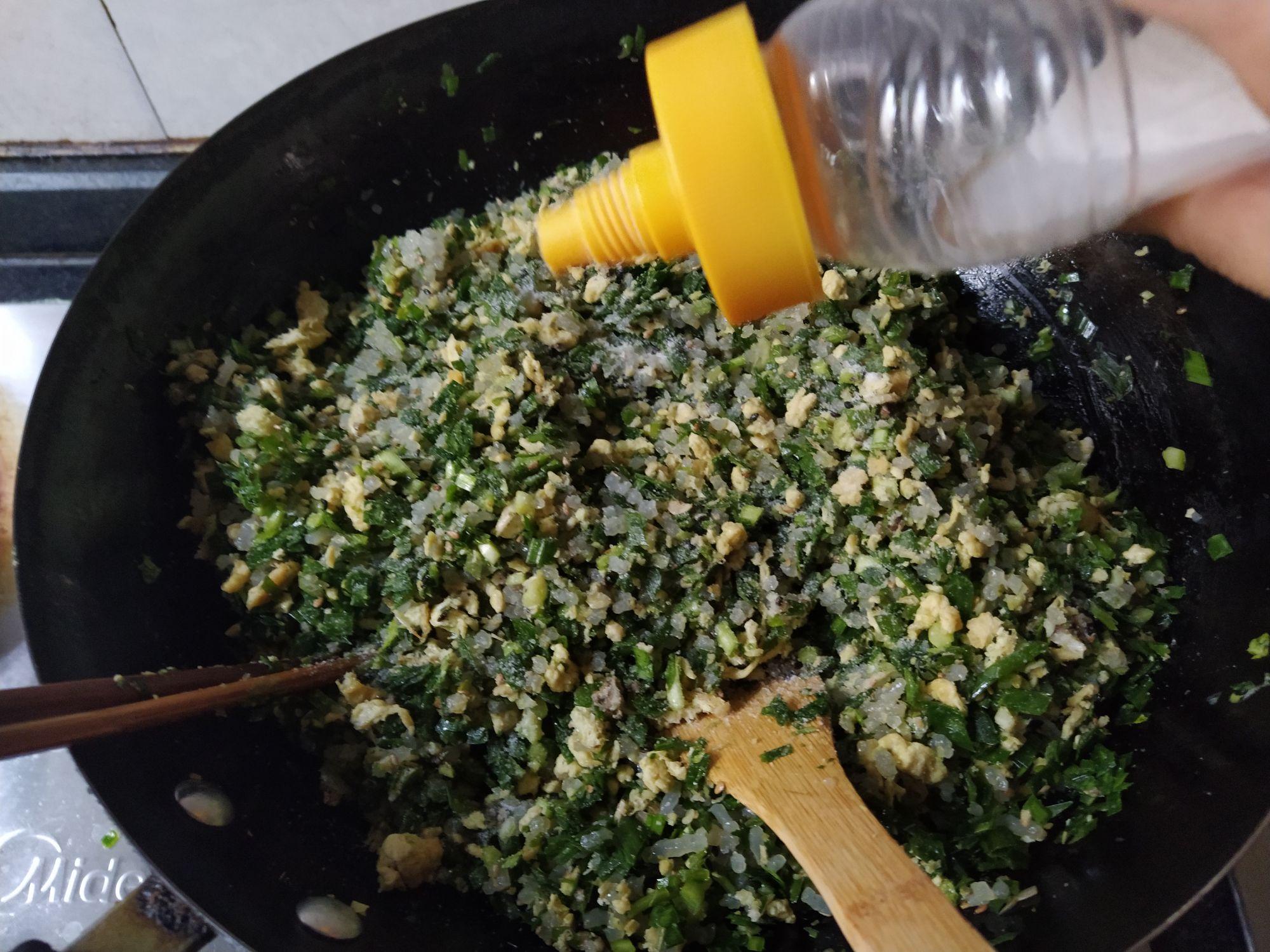 韭菜鸡蛋素饺子怎么吃
