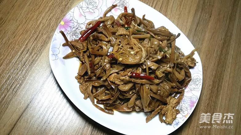 肉丝黄花菜怎么吃