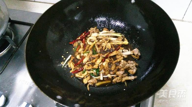 肉丝黄花菜的简单做法