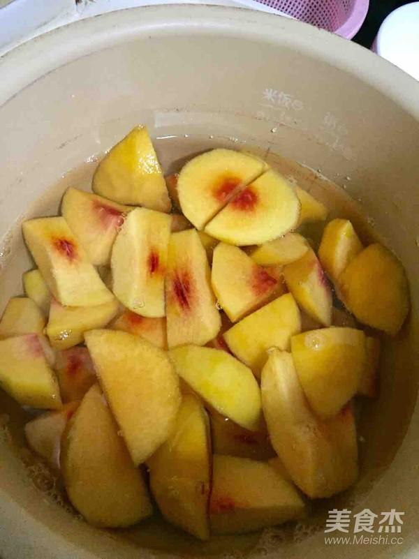 糖水黄桃的做法图解