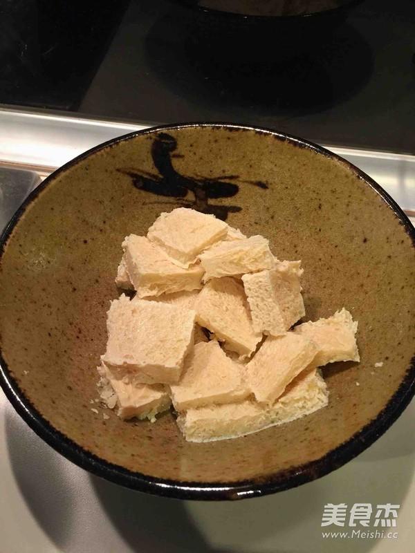 小白菜炖冻豆腐的做法图解