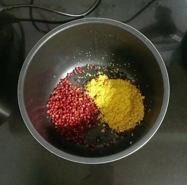 小米红豆粥的简单做法