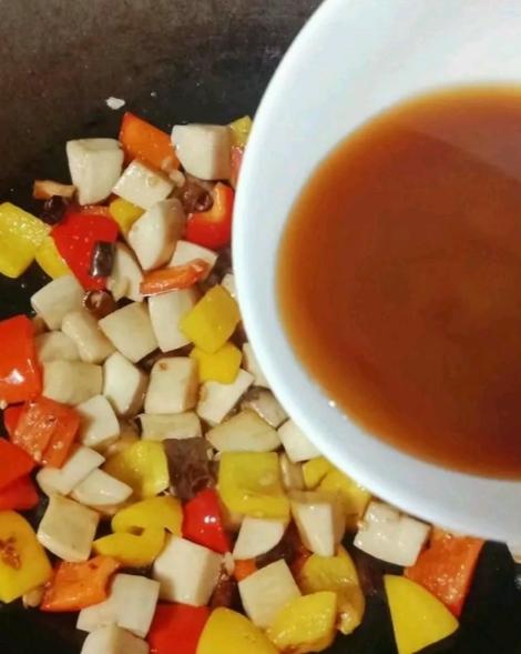 彩椒杏鲍菇怎么煮
