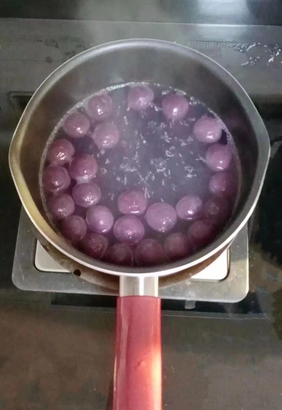 芋圆酸奶水果捞怎么吃