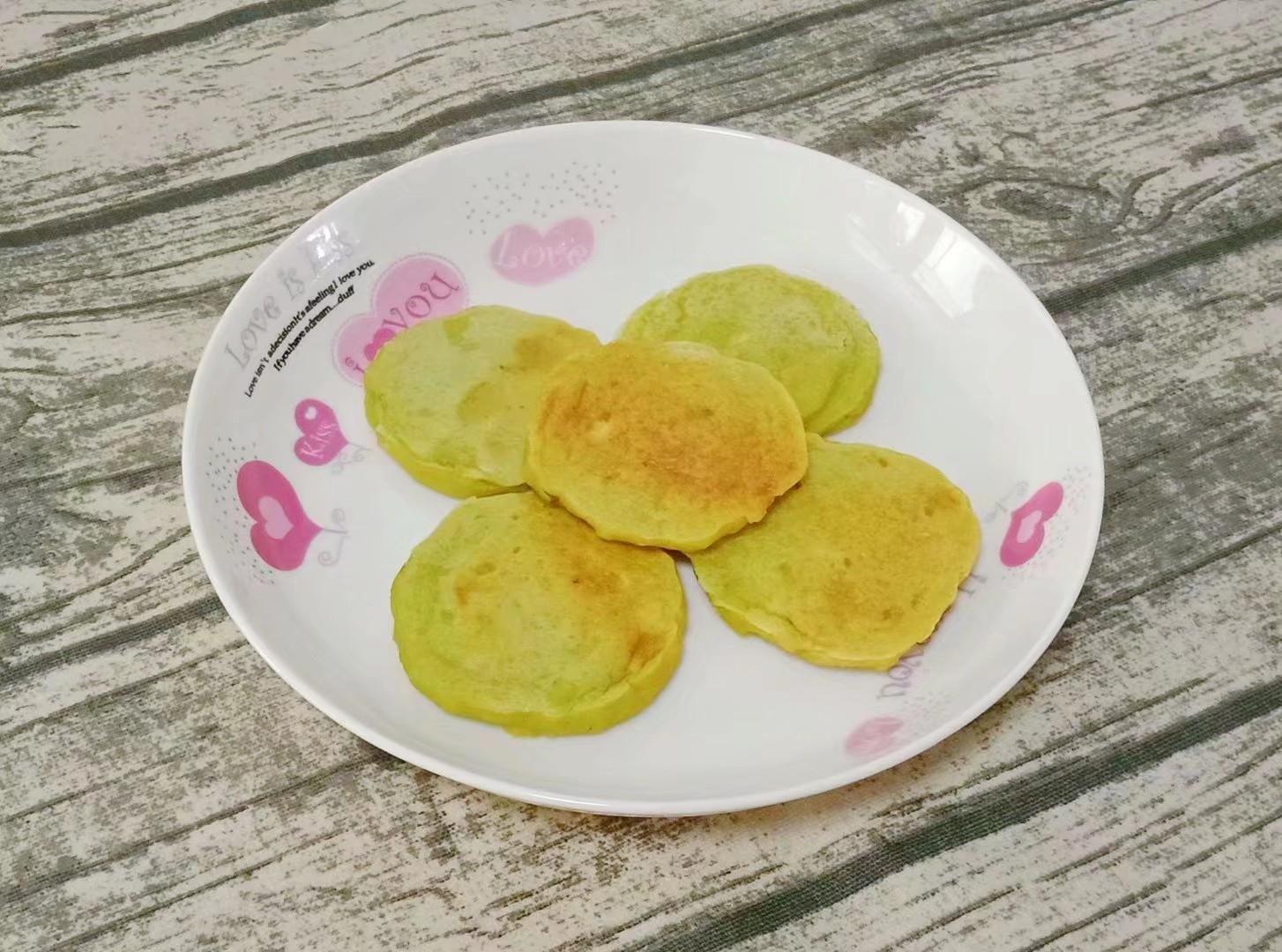酸甜小米餅 (寶寶輔食)成品圖