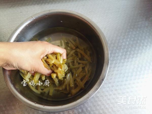 榨菜肉丝的做法图解