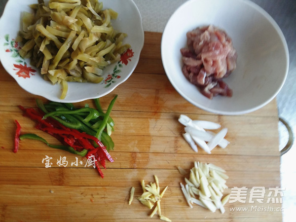 榨菜肉丝的家常做法
