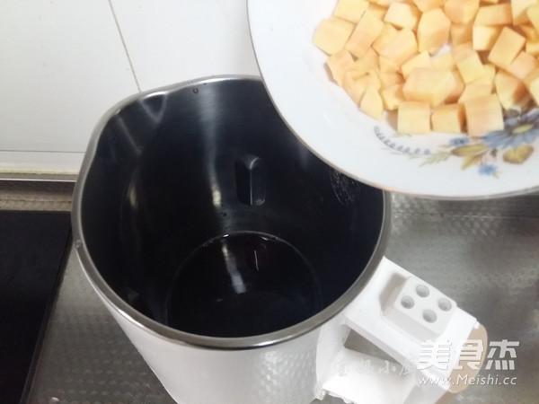 杂粮红薯米糊的简单做法