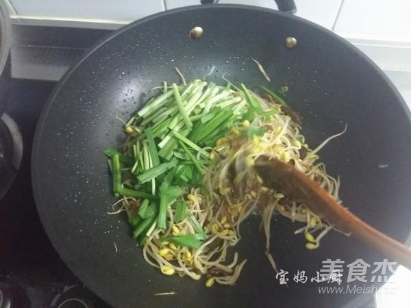 黄豆芽炒韭菜怎么炒