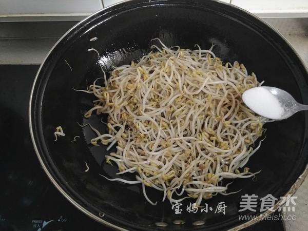 素炒绿豆芽怎么吃