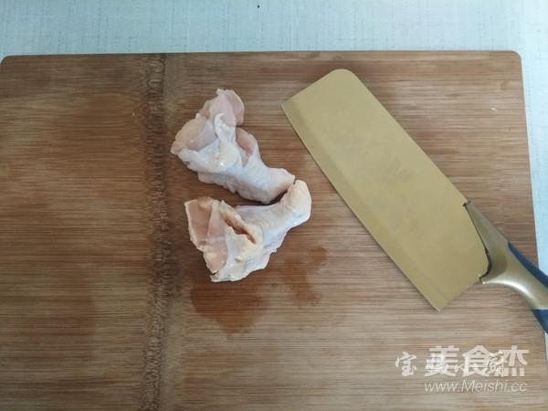 法式黑椒烤翅根的步骤