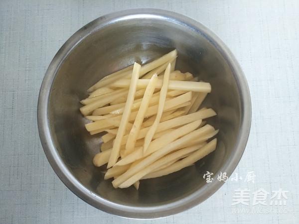 炸烤原味薯条怎么吃