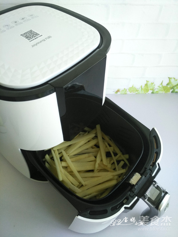 炸烤原味薯条怎么做