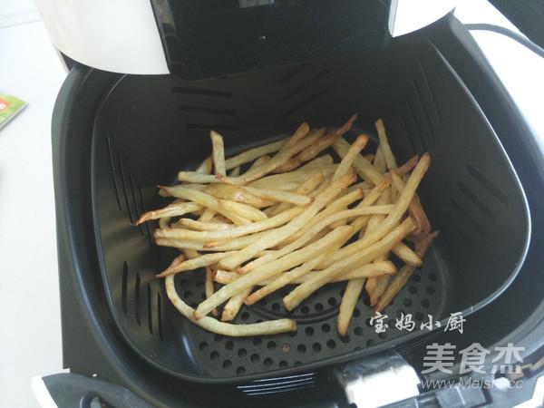 炸烤原味薯条怎么炒
