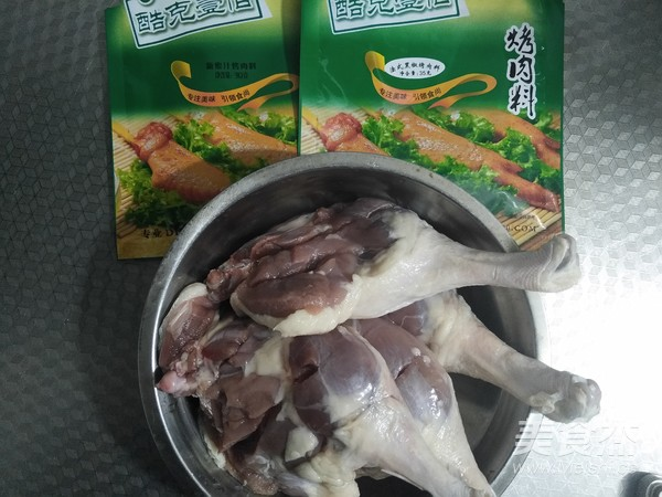 蜜汁黑椒烤鸭腿的做法大全