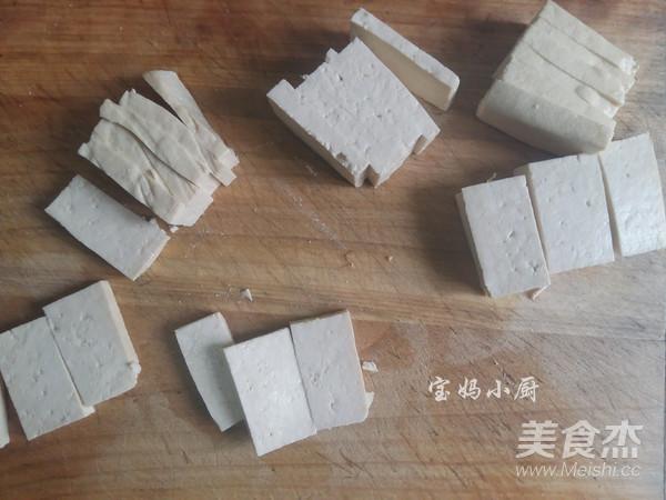 芹菜炒豆腐的做法大全