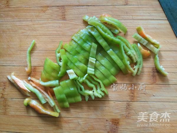 尖椒干豆腐丝的简单做法