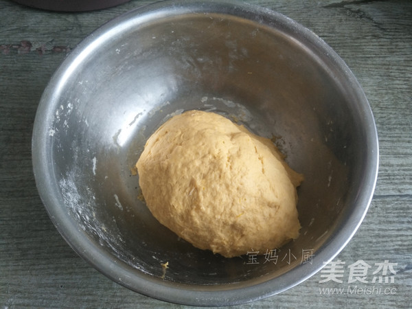 南瓜豆浆水烙馍的步骤