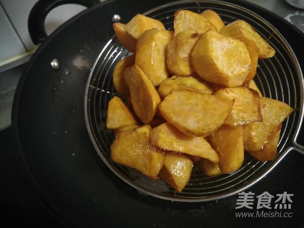 拔丝红薯的简单做法