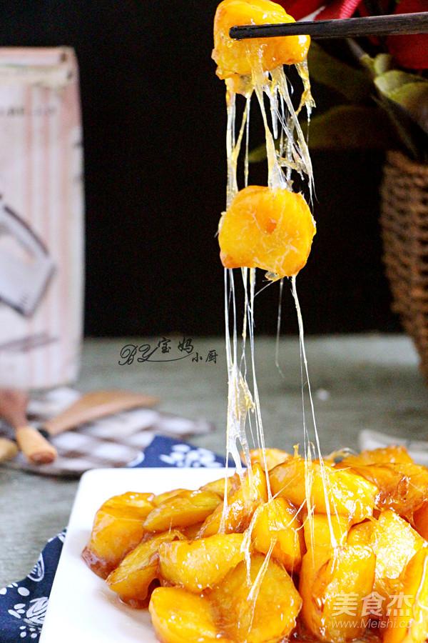 拔丝红薯成品图