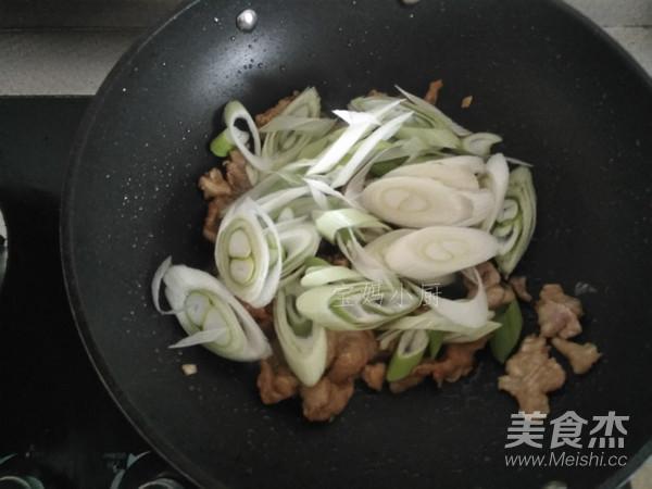 大葱滑肉片怎么吃