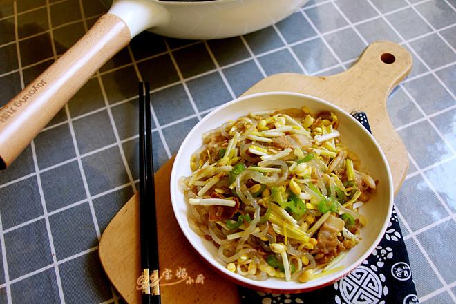 黄豆芽炒蒜黄怎么煮