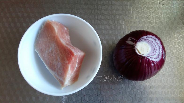 洋葱炒肉的步骤