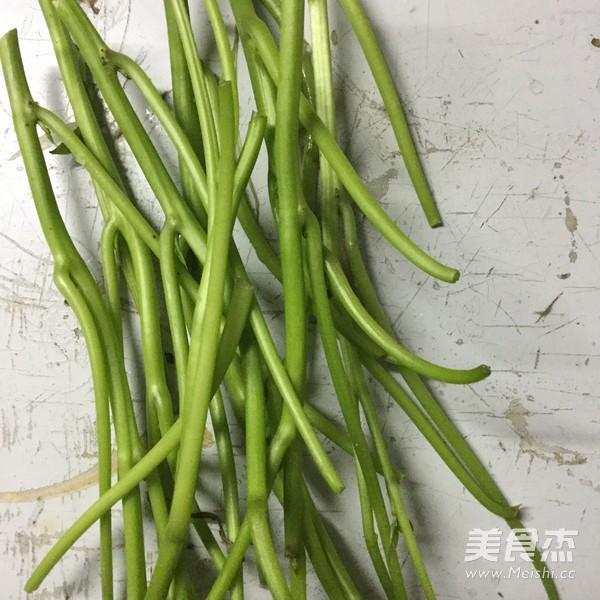 黄豆酱炒番薯叶的做法大全
