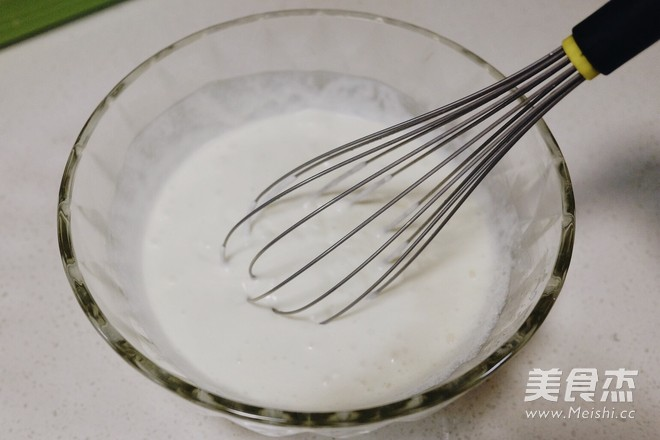 抹茶红豆豆浆冰怎么吃