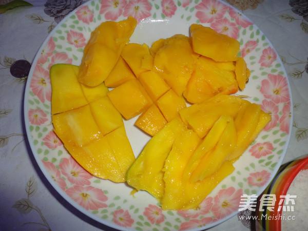椰蓉芒果糯米糍的简单做法