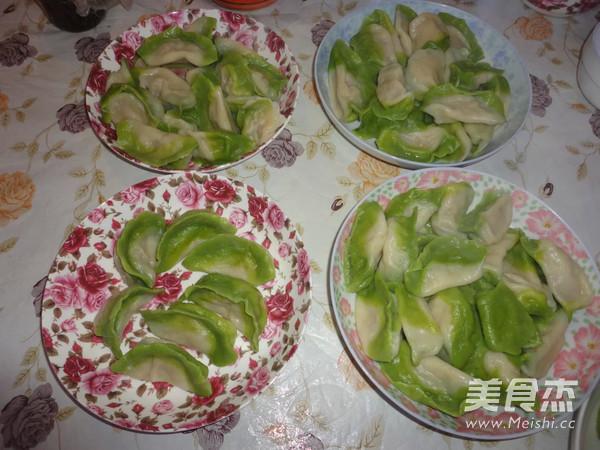 翡翠白菜饺子怎么做