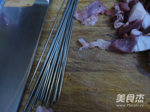 烤羊肉串的做法图解