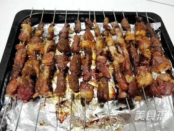 烤羊肉串怎么煮