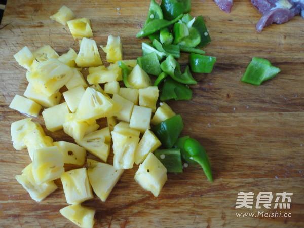 菠萝咕噜肉的做法图解