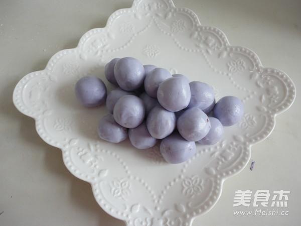 紫甘蓝汁豆沙葡萄怎么炖
