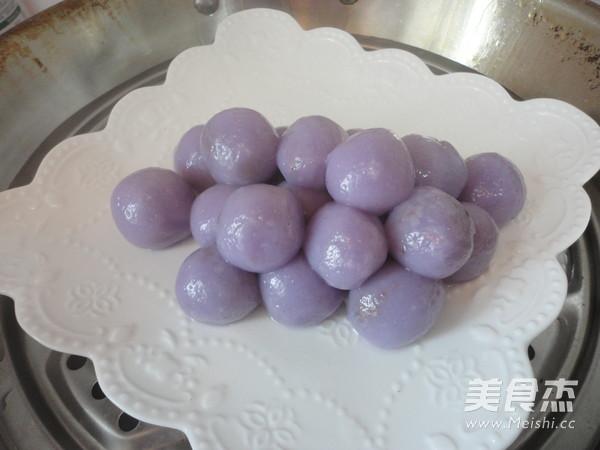 紫甘蓝汁豆沙葡萄怎样煸