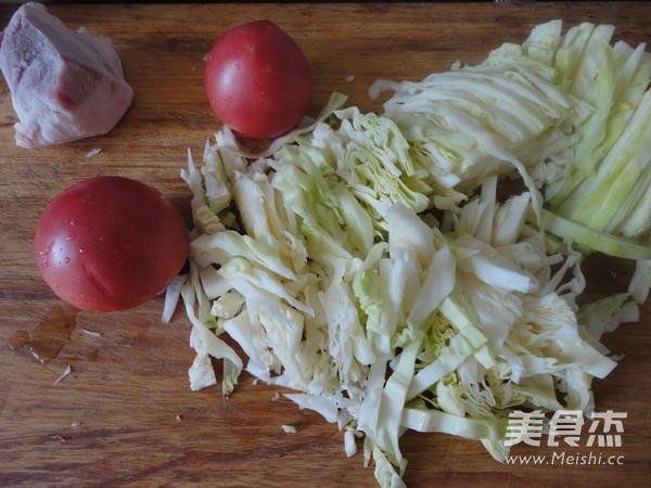 包菜炒西红柿的做法大全