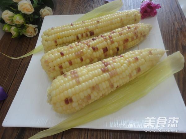 水煮水果玉米成品圖
