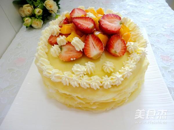 芒果千层蛋糕怎样煸