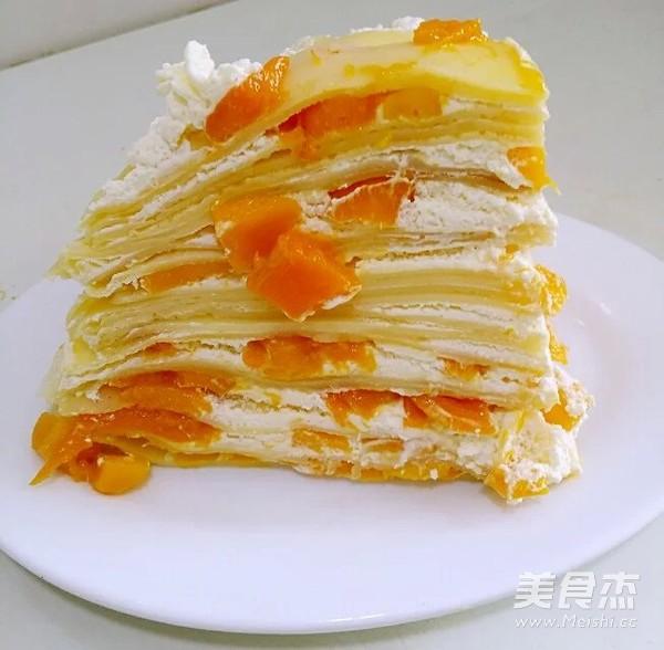 芒果千层蛋糕怎样做