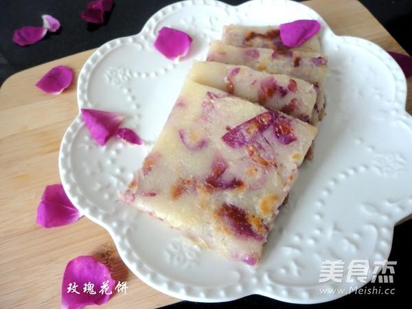 玫瑰花饼怎么炒