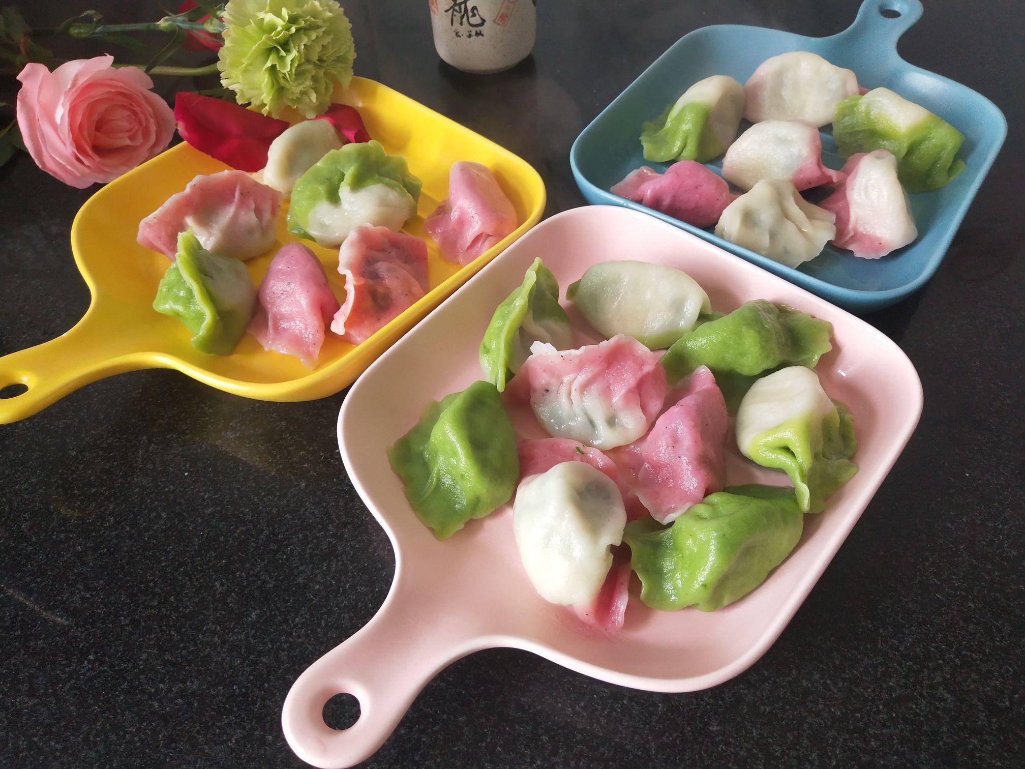 彩色饺子怎么煮