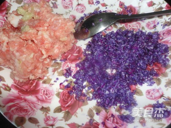 紫甘蓝猪肉饺子的做法大全