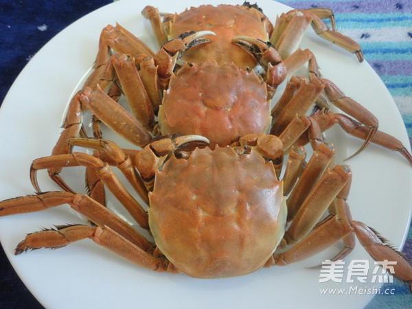 清蒸螃蟹怎么吃