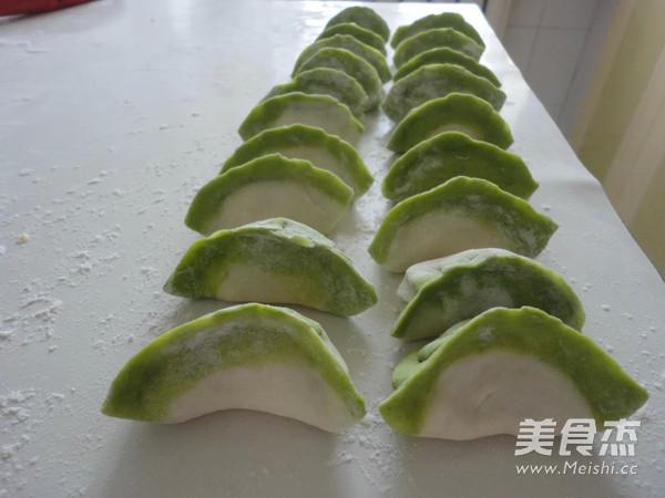 翡翠白菜饺子怎么吃