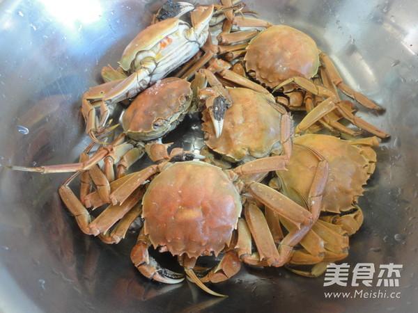 清蒸螃蟹的简单做法