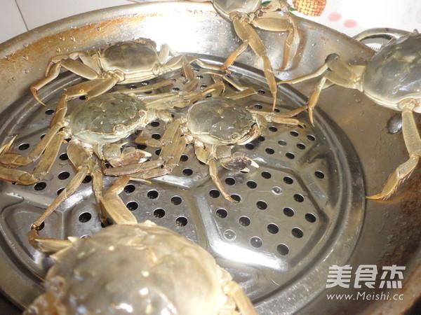 清蒸螃蟹的做法图解